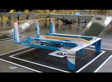 drone amazon ibrido consegne