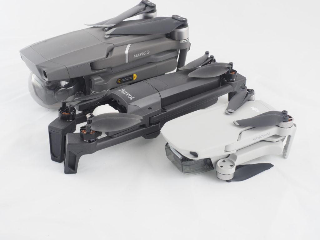MAvic 2 Pro, Parrot Anafi, Mavic Mini - Il Dronista